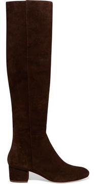 Halston Jennifer Suede Knee Boots