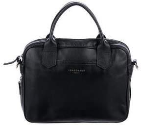 Longchamp Leather Satchel Bag