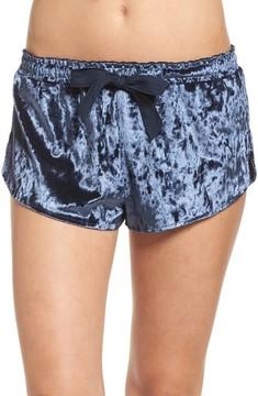 Chelsea28 Women's Starry Night Velvet Pajama Shorts