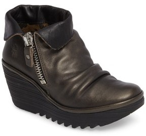 Fly London Women's Yoxi Wedge Bootie