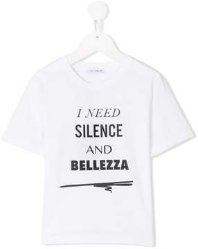 Dolce & Gabbana need silence print T-shirt