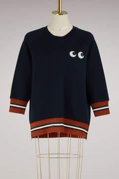Anya Hindmarch Eyes rayon sweatshirt