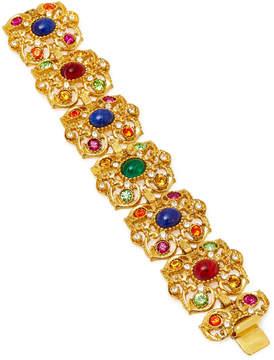 Ben-Amun Ben Amun Gold-Plated Crystal Bracelet