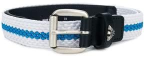 Emporio Armani Kids logo buckle belt
