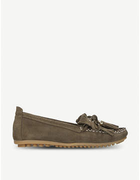 Carvela Comfort Cynthia suede loafers