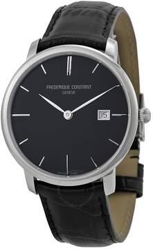Frederique Constant Slim Line Black Dial Automatic Men's Watch