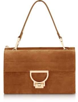 Coccinelle Brule Suede Arlettis Shoulder Bag