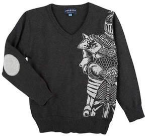 Andy & Evan Knight V-Neck Sweater, Size 2-7