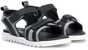 DSQUARED2 flat sole sandals