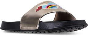 Nine West Girls' Britnay Slide Sandals from Finish Line