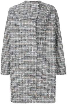 Antonio Marras embroidered cocoon coat