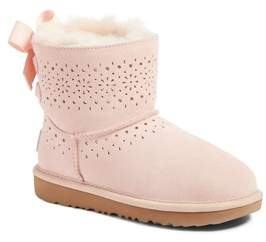 UGG Girl's Dae Perforated Tie Back Boot