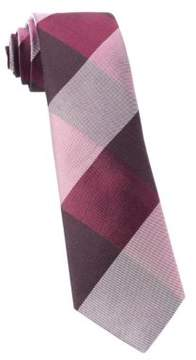 The Tie Bar Wool and Silk Plaid Tie
