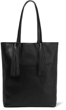 Loeffler Randall Cruise Tasseled Leather Tote - Black
