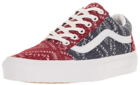 Vans Unisex Old Skool (Ditsy Bandana) Parisian N Skate Shoe 5 Men US / 6.5 Women US