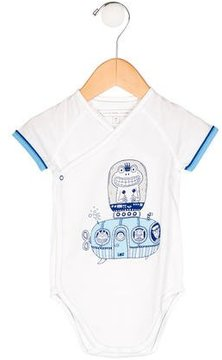 Little Marc Jacobs Boys' Printed Wrap All-In-One