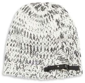 MICHAEL Michael Kors Belted Marled Knit Beanie