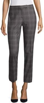Peserico Women's Plaid Wool-Blend Pants