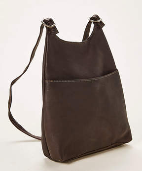 Le Donne Cafe Leather Sling Backpack