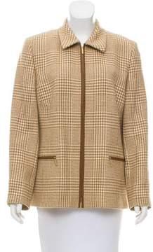 Basler Zip-Up Wool Jacket