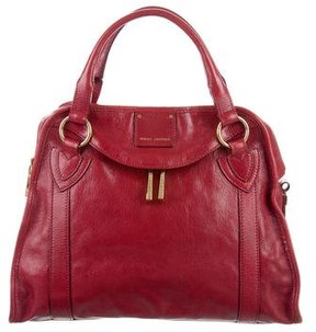 Marc Jacobs Leather Wellington Satchel - RED - STYLE