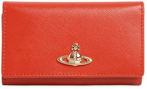 Vivienne Westwood Opio Saffiano Leather Key Wallet