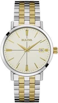 Bulova Classic Collection 98B255 Gold/Silver Analog Quartz Men's Watch