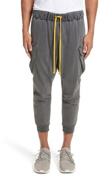 Drifter Men's Geri Cropped Jogger Cargo Pants