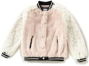 Xtraordinary Big Girls 7-16 Faux-Fur Bomber Jacket