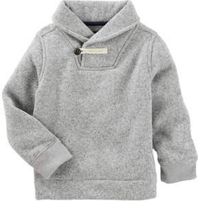 Osh Kosh Toddler Boy Toggle Shawl Sweater