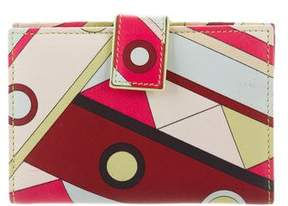 Emilio Pucci Multicolor Leather Wallet
