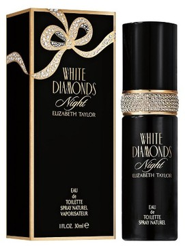 White Diamonds Night by Elizabeth Taylor Eau de Toilette Women's Spray Perfume - 1 fl oz