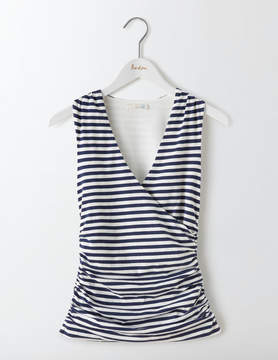Boden Crossover Ruched Top