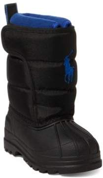 Ralph Lauren Hamilten Ii Quilted Ez Boot Black 4
