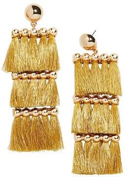 BaubleBar Malaya Tassel Drop Earrings