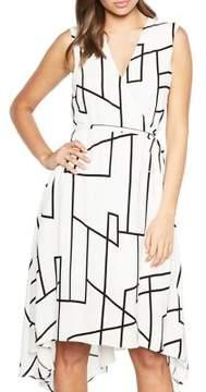 Bardot Asymmetrical Wrap Dress