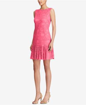American Living Ruffled Lace Dress