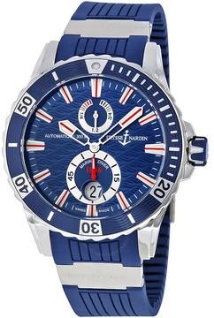 Ulysse Nardin Maxi Marine Diver Blue Dial Automatic Men's Watch 263-10-3-93