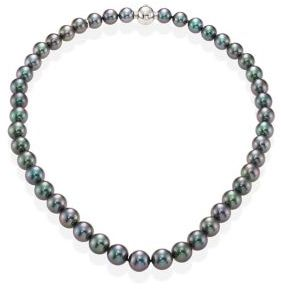 Mikimoto Black South Sea Cultured Pearl Necklace