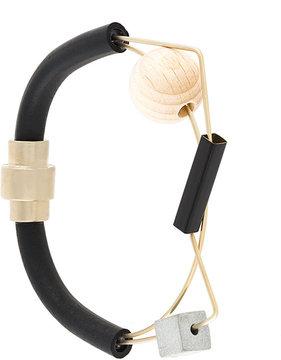 Enfold geometric bracelet