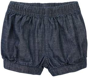 Tea Collection Chambray Shorts (Baby Girls)