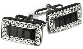 Forzieri Silver Plated Cuff Links