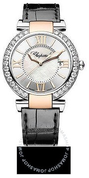Chopard Imperiale Diamond Mother of Pearl Dial Rose Gold Ladies Watch