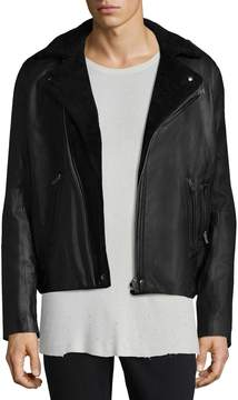 IRO Men's Ebbe Leather Biker Jacket