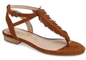 Sole Society Women's Mara Fringe Thong Sandal