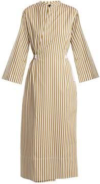Joseph Laury striped cotton dress
