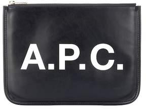 A.P.C. Morgane vinyl pouch