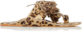 Figue Leopard Haircalf Scaramouche Sandal