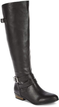 Material Girl Carleigh Tall Wide-Calf Riding Boots, Created for Macy's Women's Shoes