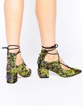 Asos SALOON Embellished Heels
